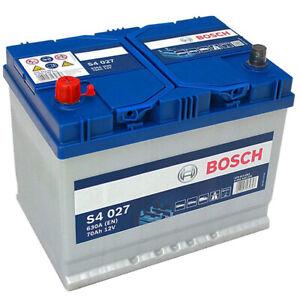 Batterie BOSCH Bosch S4027 70Ah 630A