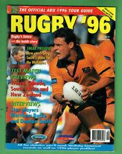#Kk. Rugby Union Program - 1996, Australia Season Draw Pinup