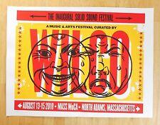 Wilco Solid Sound poster | 2010 - Inaugural Festival | Pete Cardoso - rarity!