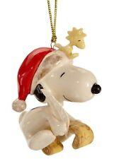 Lenox Peanuts Snoopy's List For Santa Ornament Nib