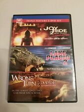 Joy Ride 2/Lake Placid 2/Wrong Turn 2 - Unrated edition (DVD)