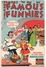 Famous Funnies 181 1949 FN VF Napoleon Buck Rogers Scorchy Smith