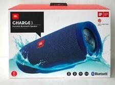 JBL Charge 3 Waterproof Portable Wireless Bluetooth Speaker - Blue