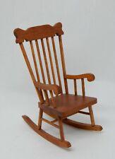 Vintage William Judge Rocking Chair Artisan Dollhouse Miniature 1:12