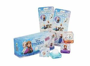 Disney Frozen Lip Balm Smackers Gift Set Elsa Anna Olaf + 2 Sticker Sheets