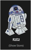 STAR WARS CELEBRATION 2019 Chicago R2-D2 Exclusive Enamel Pin