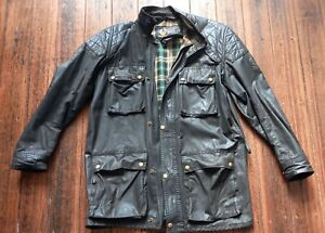 Belstaff Vintage Trial-Master Motorcycle Jacket and Quilted under- vest