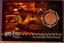 Harry Potter-POA-Update-Movie-Film-Screen Used-Prop Card-Sleeping Bag