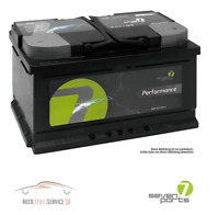 Autobatterie Seven Parts Performance 12V Starterbatterie 50Ah Bmw Ford B-Max 1.6