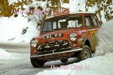 Rauno Aaltonen Mini Cooper LBL 6D Monte Carlo Rally 1967 fotografia 1