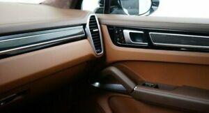 Porsche OEM 9Y0 Cayenne 2018+ Carbon Fiber Interior Trim Set Of 5 Brand New