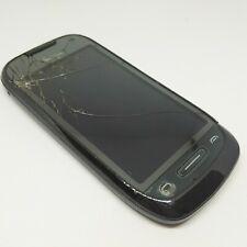 Nokia C7-00 Mobile Phone Unlocked Black Smartphone Cracked screen