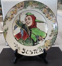 """Royal Doulton """" The Jester """" Collector Plate D-6277"""