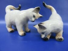 Siamese Cats Salt and Pepper Pots - Siamese Cat Cruet Set - New