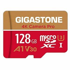 Gigastone 128GB Micro SD Card, 4K Video Recording, GoPro, Action Camera, Sports