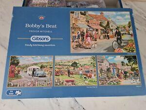 Gibson 4 x 500 piece jigsaw puzzles Bobbys Beat Trevor Mitchell Made Twice