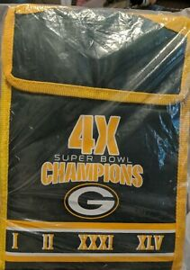 Green Bay Packers Insulated Lunch Bag Sack Cooler NFL Football Licensed FOCO