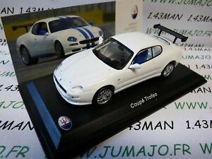 MAS46 voiture 1/43 LEO models MASERATI COUPE TROFEO