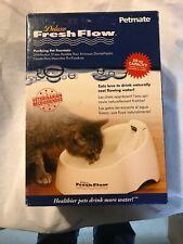 Petmate Deluxe Fresh Flow Cat Water Fountain Bowl 50oz