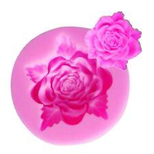 Aus Seller....FLOWER....medium ROSE SILICONE MOULD...Fondant/chocolate....new
