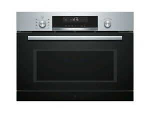 BOSCH COA565GS0 built-in microwave with steaming function stainless steel