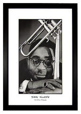 "Dizzy Gillespie by Ted Williams Photography, Jazz Trumpet 24""x36"" Framed Poster"