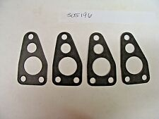 OMC Johnson Evinrude Thermostat Cover Gasket # 305196 Set of 4 NOS
