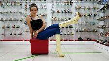 GIANMARCO LORENZI EU 40 US 9 platform stiletto heels leather gold soles boots