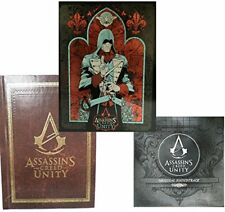 ASSASSIN'S CREED UNITY STEELBOOK UPLAY EXCLUSIVE BUNDLE + ART BOOK + SOUNDTRACK