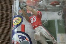 WES WELKER, NFL 26, RARE CHASE MCFARLANE, 323/350, NEW ENGLAND PATRIOTS