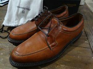NIB Allen Edmonds Wilbert Brown Split Toe Derby Shoes Size 10.5D USA Made $345