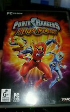The Power Rangers Ninja Storm PC GAME - FREE POST
