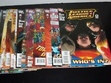 Justice League of America #0 1-25 Very High Grade Varriant Books Incluced Lot