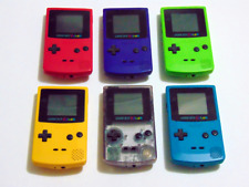 Nintendo GameBoy Color Collection CGB-001 (Lot of 6)