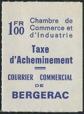 1974 FRANCE BERGERAC TIMBRE DE GREVE N°31** TB COTE 100€ / MNH