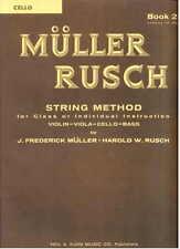 Muller-Rusch String Method for Cello Book 2