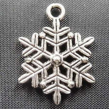 free ship 60pcs tibet silver snowflake Charms 22x17mm