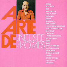 A Arte de Vinicius de Moraes by Vinícius de Moraes (CD, Oct-2004,...