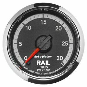 "Autometer Gauge, Rail Press, 2 1/16"", 30kpsi, Digital Step Motor, Fit Ram Gen 4"