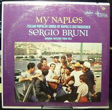 Sergio Bruni-MY NAPLES-Italian Popular Songs (sealed) Capitol T 10370 (MONO)