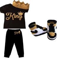 Bodysuit Baby outfit purple blessed Boost Y350 Pants and crochet sneakers
