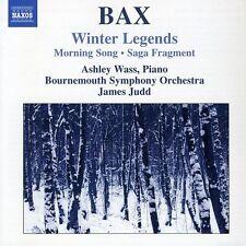Ashley Wass, A. Bax - Winter Legends / Morning Song / Saga Fragment [New CD]