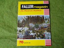 Faller ams   - Magazin Nr. 76