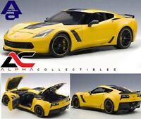 AUTOART 71260 1:18 2016 CHEVROLET CORVETTE C7 Z06 C7R RACING YELLOW