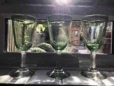 More details for vintage french handbliwn wine bubble glasses giblets biot ?
