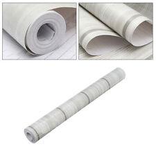 10m Wood Grain Peel&Stick Contact Paper Self Adhesive Furniture Wall Film Paper