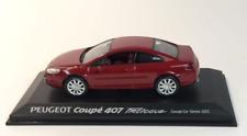 Peugeot 407 Coupè Salon Geneve 2005 Red 474775 1/43 Norev