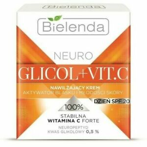 Bielenda Neuro Glicol + Vitamin C Face Cream Anti-wrinkle SPF20 50ml