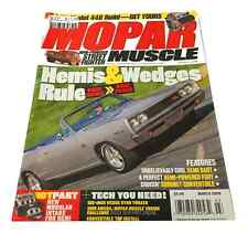MAGAZINE MOPAR MUSCLE MARCH 2009 GREAT COLLECTORS