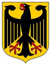 Coat of Arms of Germany Sticker / Decal R746
